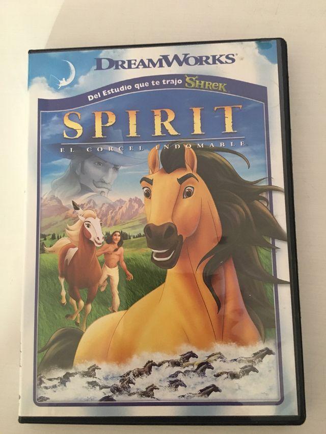 Dvd infantil Spirit
