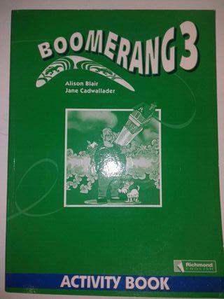 Libro de Inglés 'Boomerang 3' Activity Book