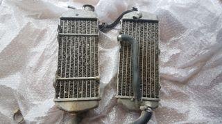 pareja radiadores ktm 4t