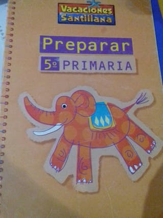 Libro de Vacaciones - Preparación 5° Primaria