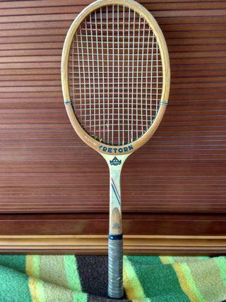 Raqueta de tenis tretorn vintage