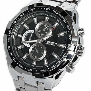 RELOJ DEPORTIVO CURREN - NEGOCIABLE -