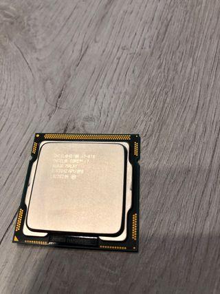 Procesador intel i7-870 muy poco uso