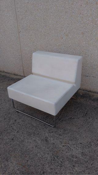 Butaca lounge espacio chill out diseño italiano