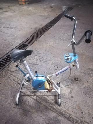 bicicleta estática GAC mobylete vintage
