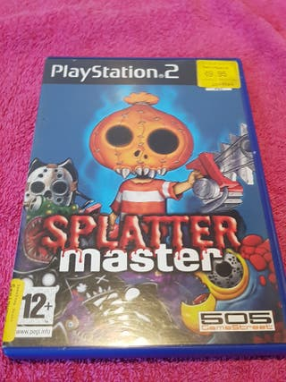 ps2 splatter master