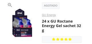 Gel energético GU Roctane