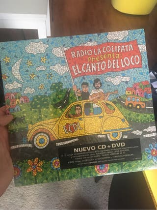 PRECINTADO El Canto Del Loco - Radio La Colifata CD Y DVD