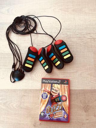 Juego BUZZ para Play Station 2 (PS2)