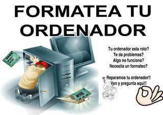 formateo e instalo sistemas operativos