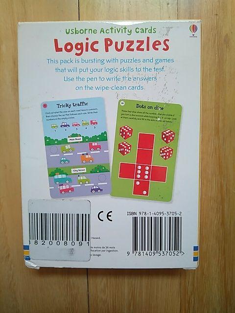 Juego didáctico en inglés: Logic Puzzles