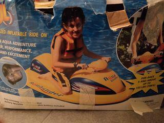 moto de agua niños