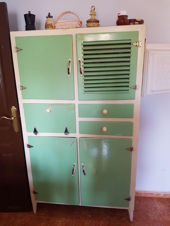 Mueble cocina vintage de segunda mano por 150 € en Zaragoza en WALLAPOP