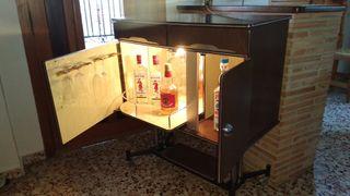 mueble bar a luz