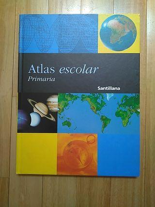 Atlas escolar Primaria Santillana