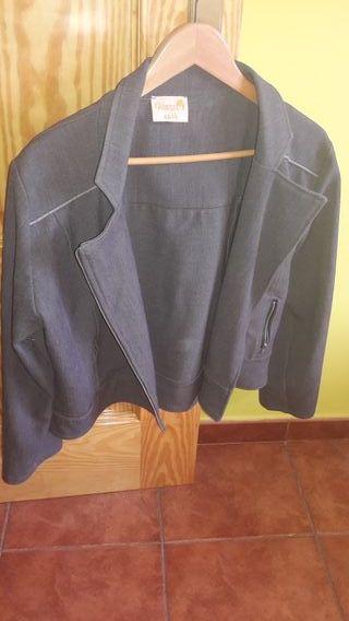 chaqueta entretiempo talla grande