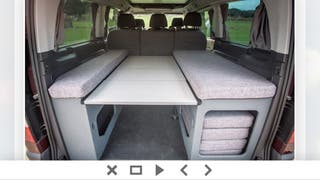 Mueble cama para furgoneta