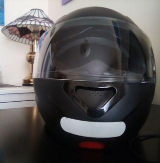 Casco de Moto negro mate sin utilizar Nuevo