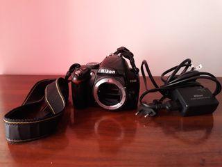 Cámara Nikon d3000 digital