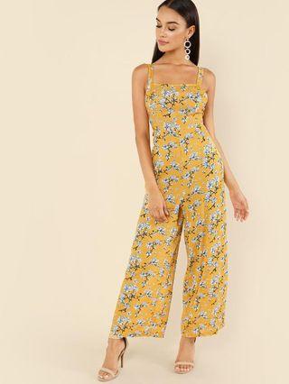Mono floral amarillo