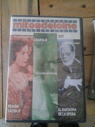 dvd mitos del cine