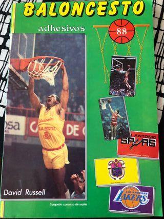 Album Baloncesto adhesivos 88