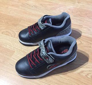 Zapatos con ruedas