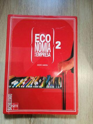 Libro de ECONOMIA de la empresa 2° de BACHILLERATO