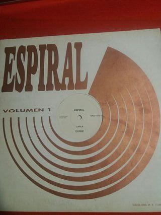 espiral vinilo