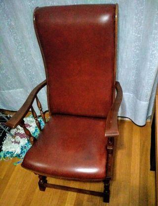 Balancín vintage Sillón vintage Mecedora Vintage