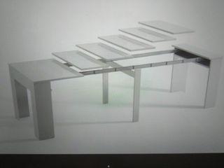 consola mesa extensible