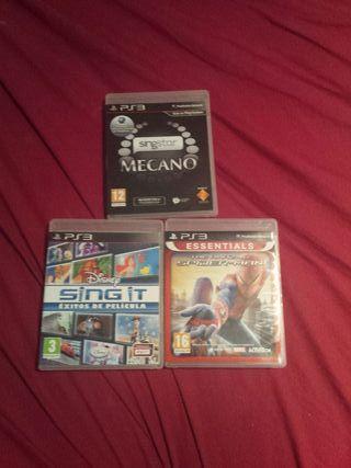 juegos Ps3 fifa 18 y GTA