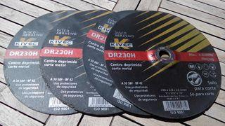 Disco abrasivo corte metal Kivec