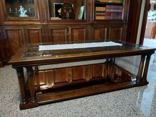 Usado, Mesa de centro + mesa auxiliar a juego segunda mano  España