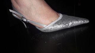 zapatos talla 40 y bolso fiesta