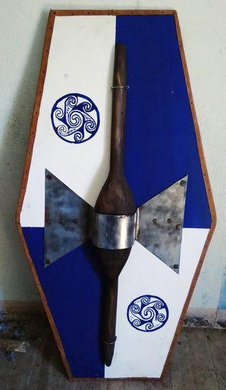 Escudo celta / galo
