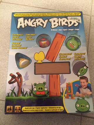 Juego de mesa Angry Birds (nuevo)