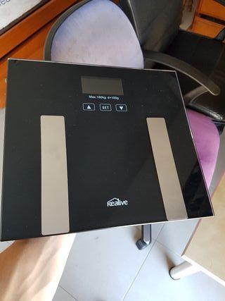 Bascula digital, peso, grasa, agua, oseo..