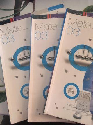 Matematicas edelvives 3ESO