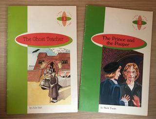 Libros lectura inglés 1ESO