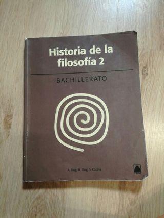 Libro de FILOSOFÍA, 2° BACHILLERATO