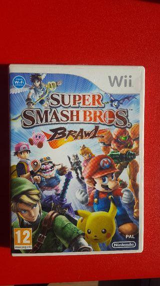Juego Super Smashbros para Wii