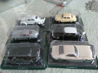 six coches escala 1/43