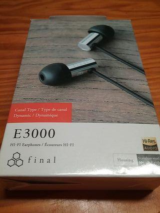 Auriculares Final E3000 ( Calidad Profesional )