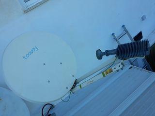 antena parabólica internet