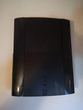 PS3 SLIM 12GB + MANDO + 2 JUEGOS + DISCO DURO 60GB segunda mano  España