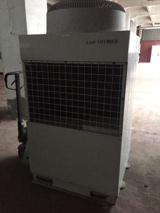 Unidad exterior aire acondicionado bomba de calor