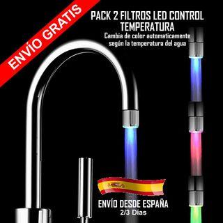 Filtro Grifo Control LED temperatura - Ahorra agua