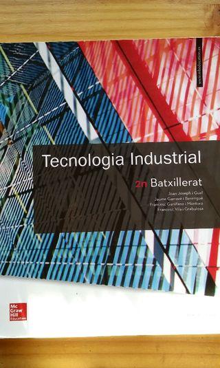 Libro tecnologia industrial 2° Bachillerato