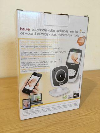 Vigila bebés con wifi para smartphone y pantalla